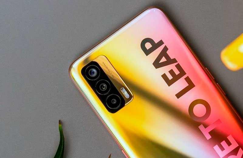 Realme X7 5G камеры смартфона
