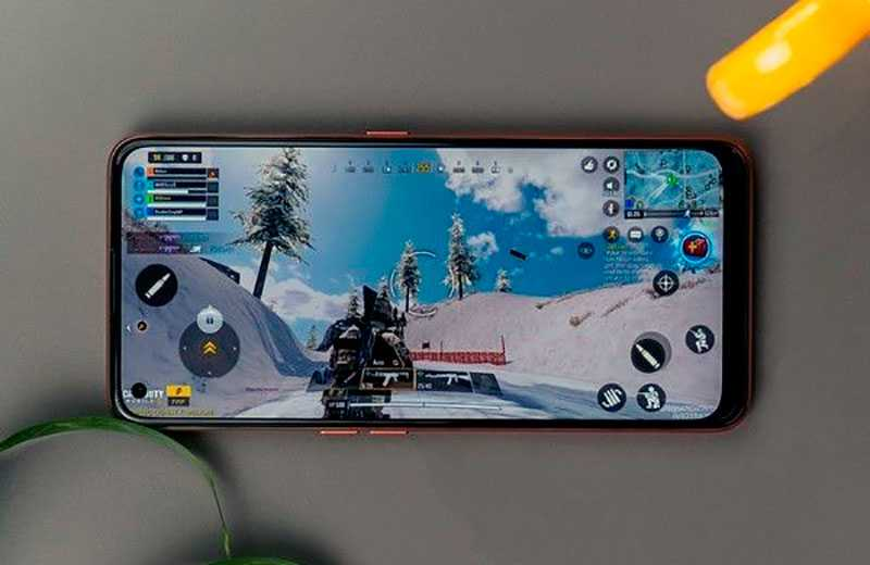 Realme X7 5G в играх