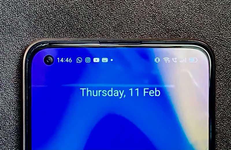 Realme X7 5G связь