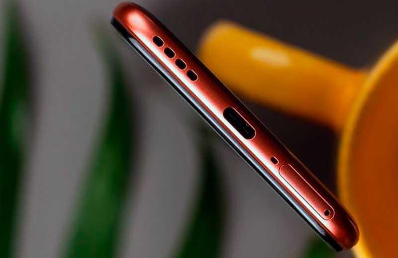Realme X7 5G снизу
