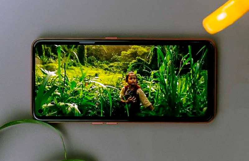 Realme X7 5G экран
