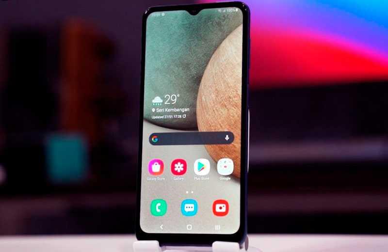 Обзор Samsung Galaxy A12