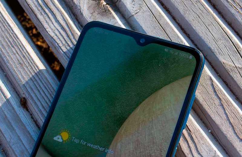 Samsung Galaxy A12 экран