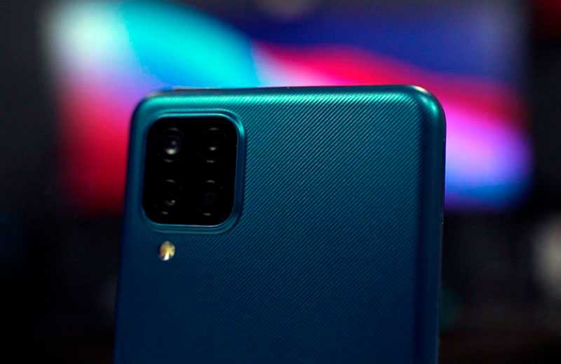 Samsung Galaxy A12 камеры