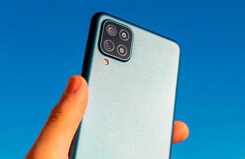 Samsung Galaxy A12 съёмка