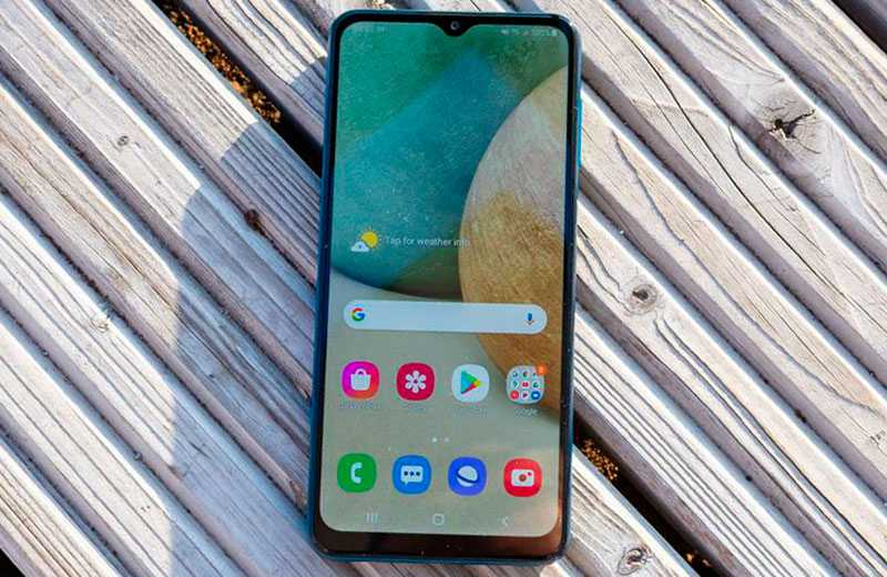 Samsung Galaxy A12 ОС