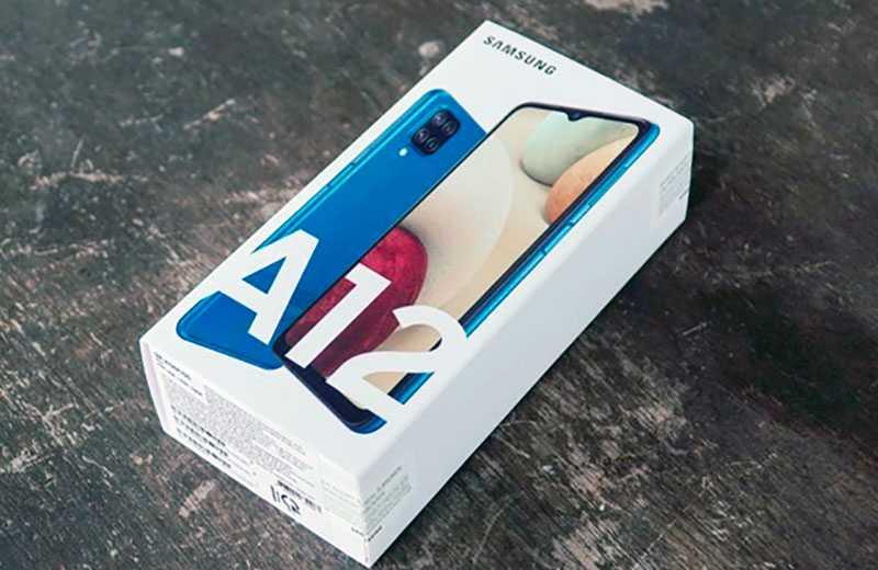 Характеристики Samsung Galaxy A12