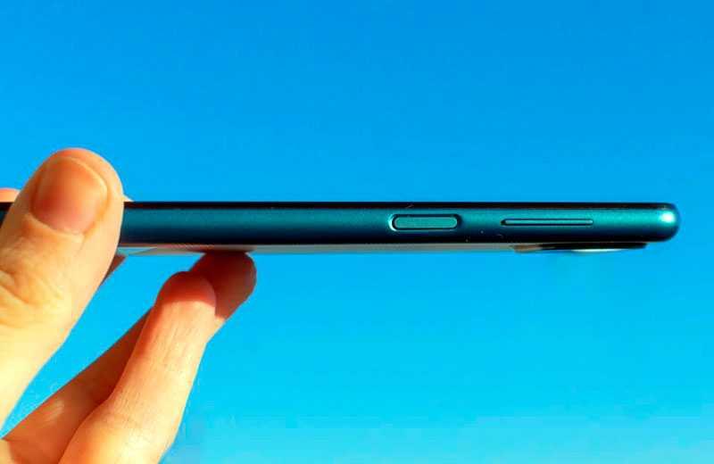 Samsung Galaxy A12 кнопки управления
