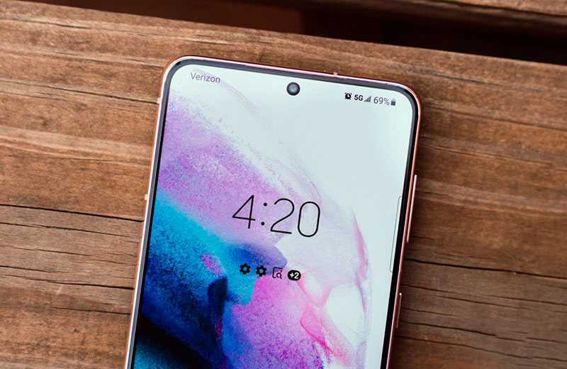 Samsung Galaxy S21 дисплей