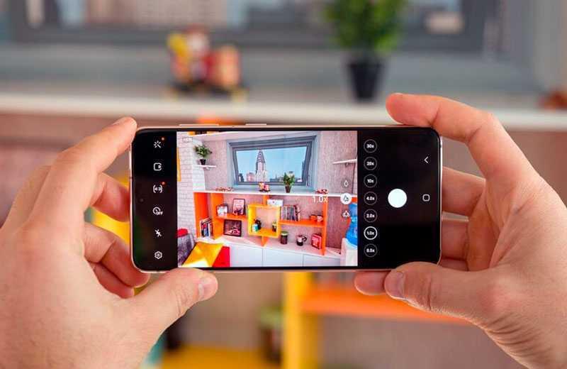 Samsung Galaxy S21 съёмка