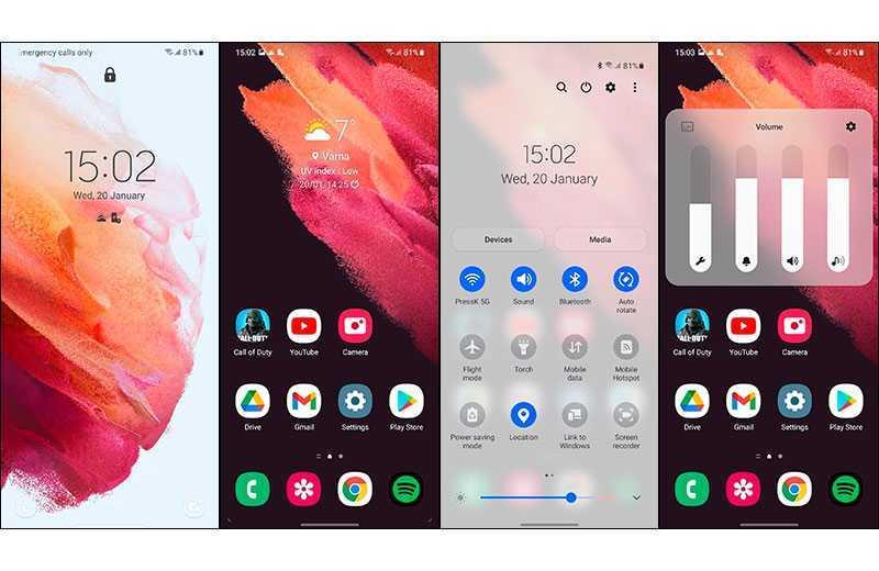 Samsung Galaxy S21 ПО