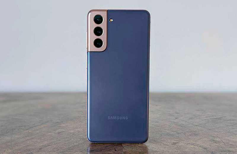 Samsung Galaxy S21 дизайн