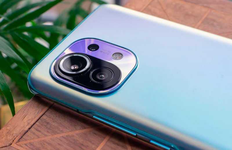 Xiaomi Mi 11 камеры