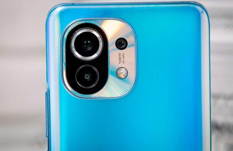 Xiaomi Mi 11 съёмка