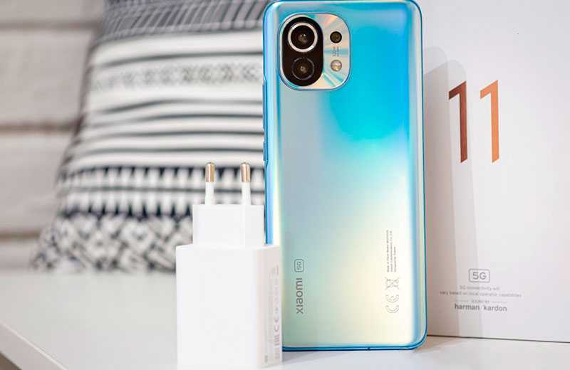 Xiaomi Mi 11 зарядка