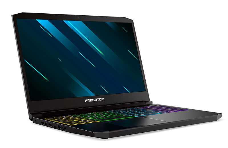 Acer Predator Triton 300 (2020) – хороший ноутбук для игр в 1080p
