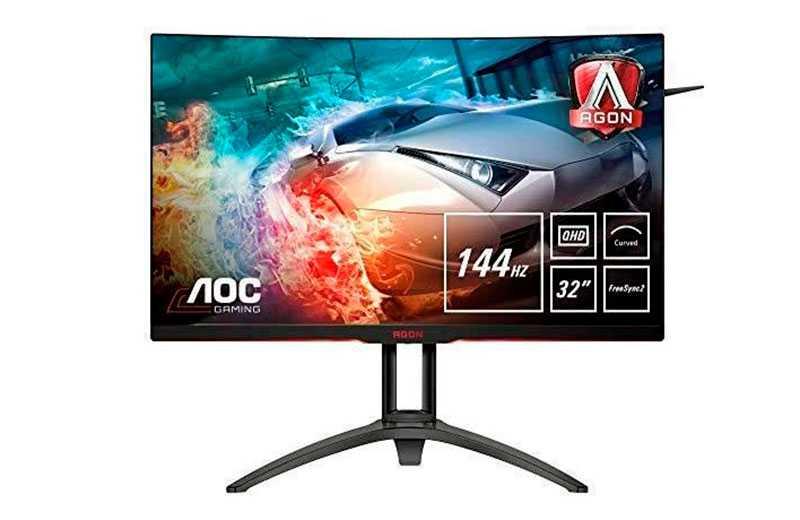 AOC AGON AG322QC4 – монитор с HDR цена и качество