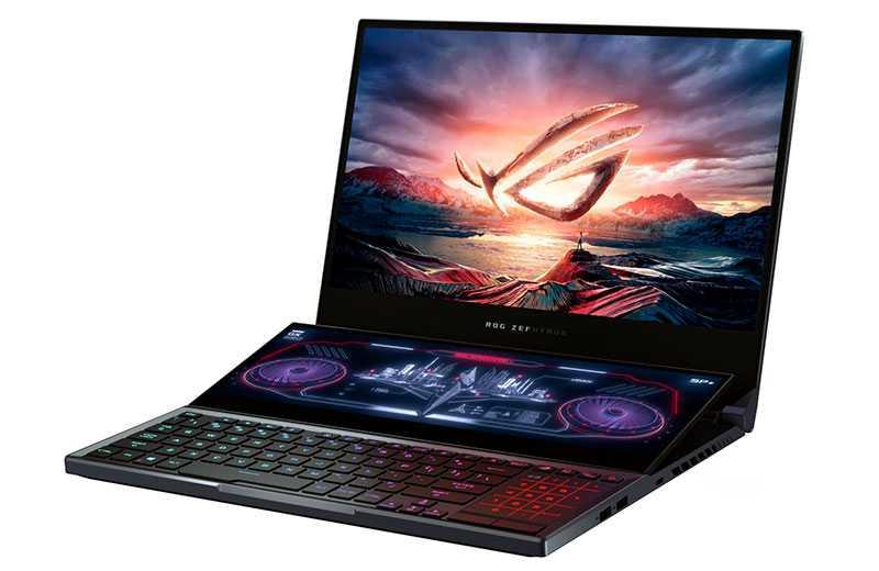 Asus ROG Zephyrus Duo – самый хороший игровой ноутбук для стримеров