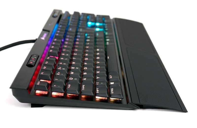 Corsair K70 RGB MK.2 Rapidfire Low Profile – низкопрофильная игровая клавиатура цена и качество