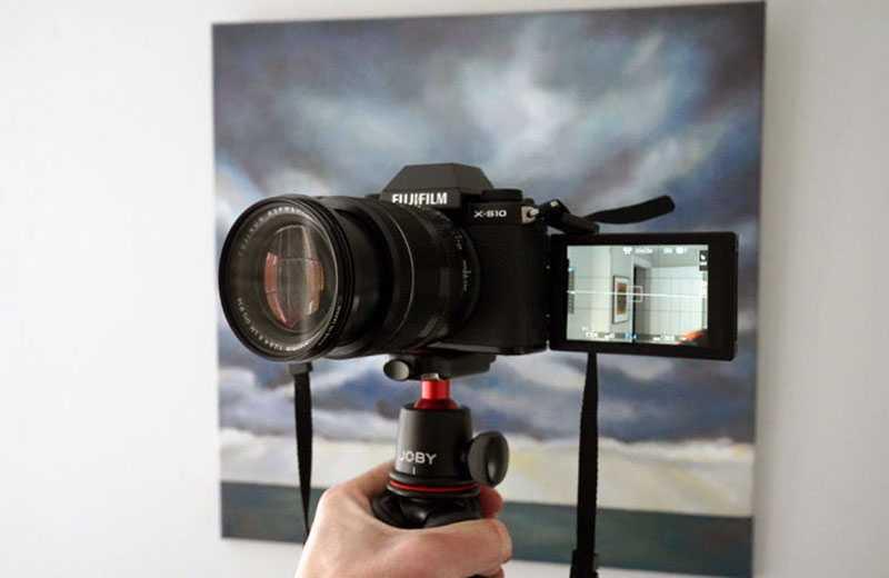 Fujifilm X-S10 съёмка видео