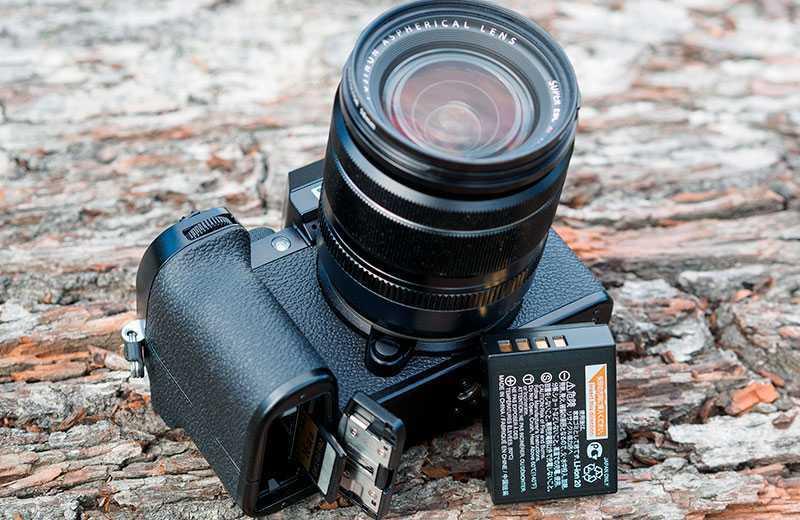 Автономность Fujifilm X-S10