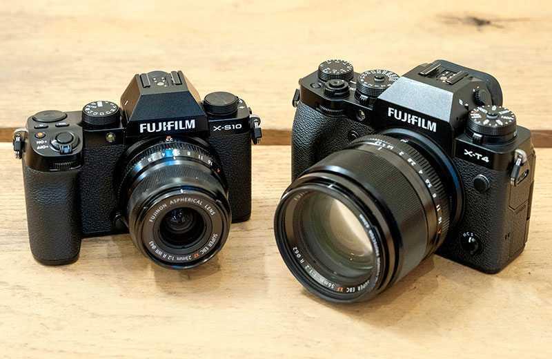 Fujifilm X-S10 обзор