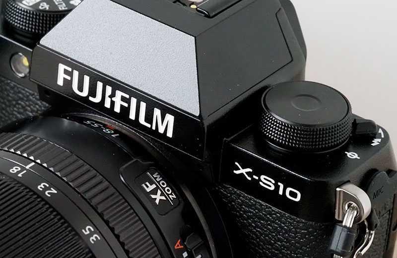 Характеристики Fujifilm X-S10
