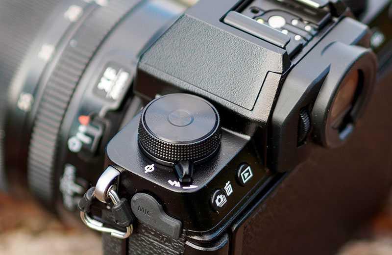 Fujifilm X-S10 управление