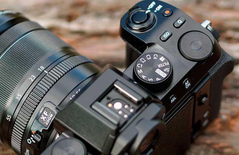 Fujifilm X-S10 настройка