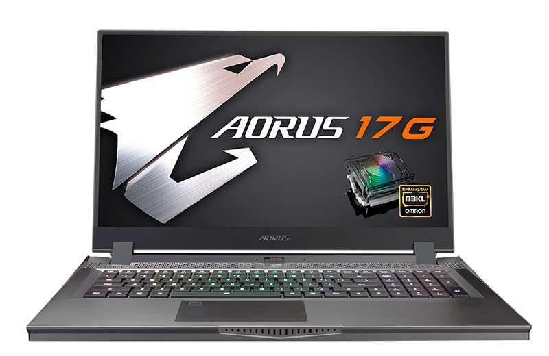 Gigabyte Aorus 17G (2021) – ноутбук с механической клавиатурой