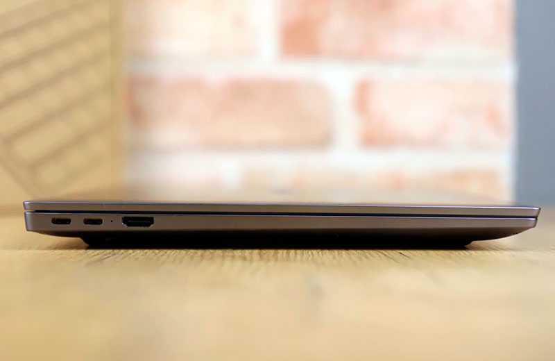 Huawei MateBook D16 порты