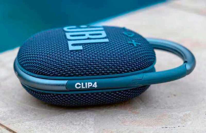 JBL Clip 4 качество звука
