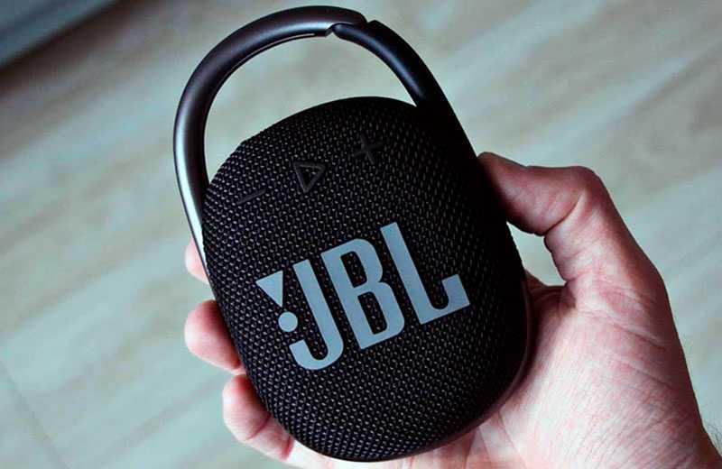 JBL Clip 4 звук