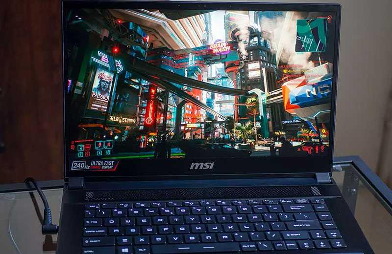 MSI GS66 Stealth (2021) видеокарта