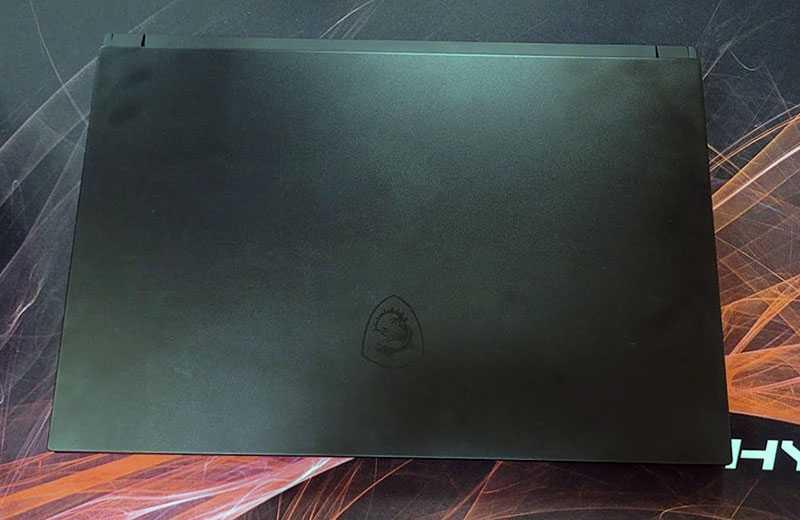 MSI GS66 Stealth (2021) дизайн