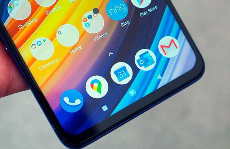 Poco X3 Pro рамки экрана