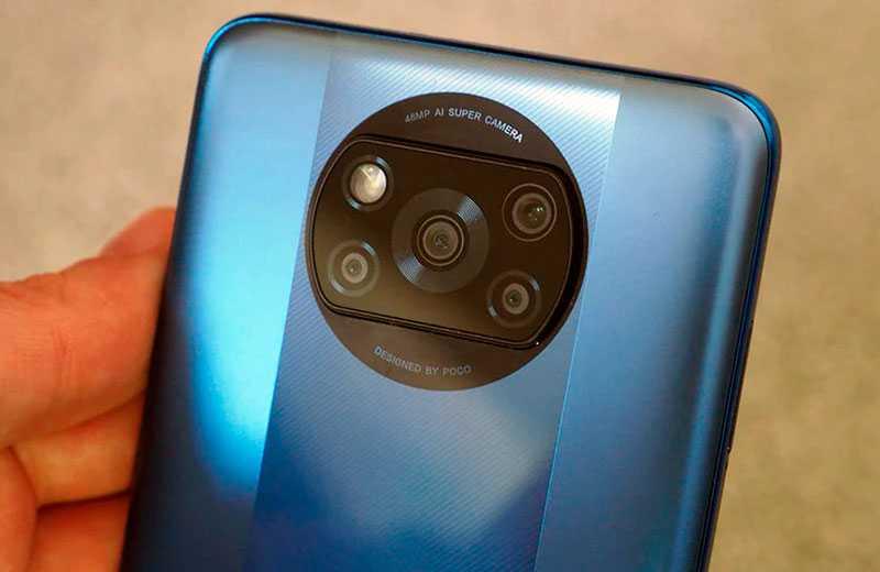 Poco X3 Pro камеры смартфона
