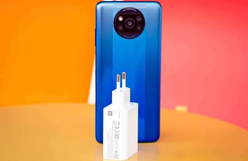 Poco X3 Pro батарея и зарядка