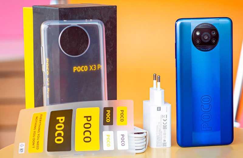 Poco X3 Pro из коробки