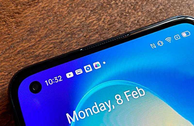 Realme X7 Pro дисплей