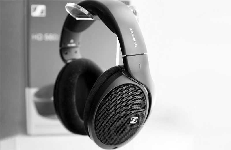 Sennheiser HD 560S звук наушников