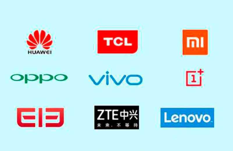 Самые популярные китайские бренды телефонов
