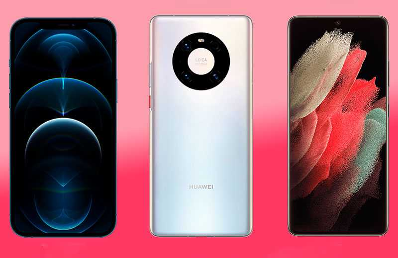 ТОП-смартфонов с лучшей камерой 2021 года