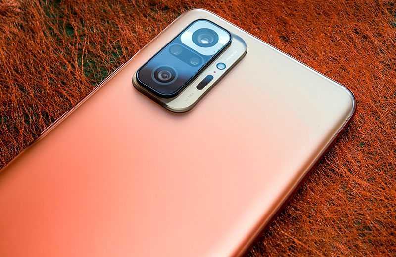 Xiaomi Redmi Note 10 Pro Max камера