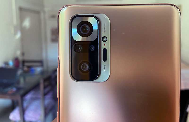 Камеры Xiaomi Redmi Note 10 Pro Max