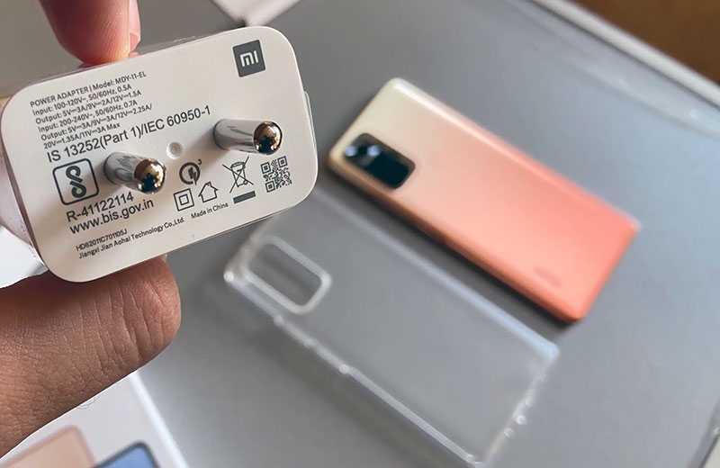 Xiaomi Redmi Note 10 Pro Max зарядка