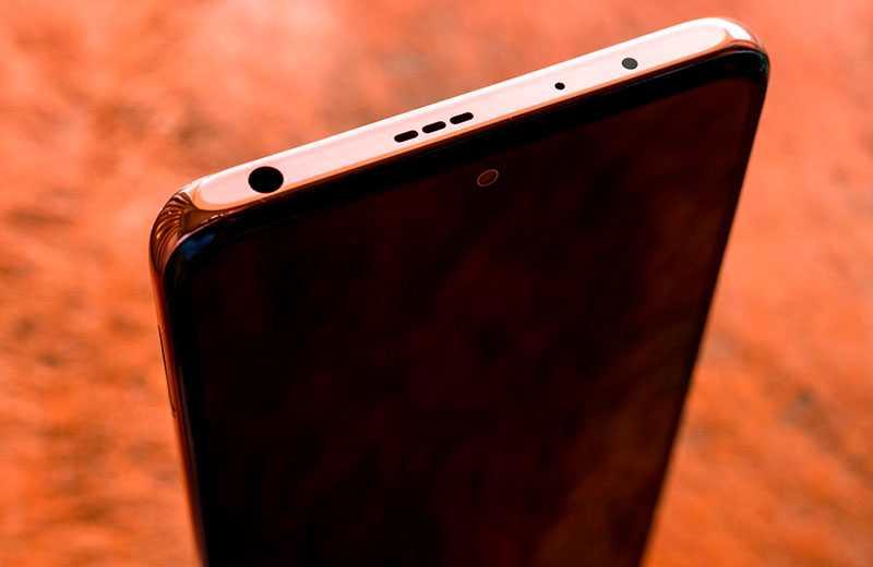 Xiaomi Redmi Note 10 Pro Max сверху
