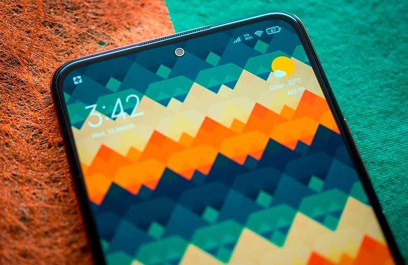 Xiaomi Redmi Note 10 Pro Max экран