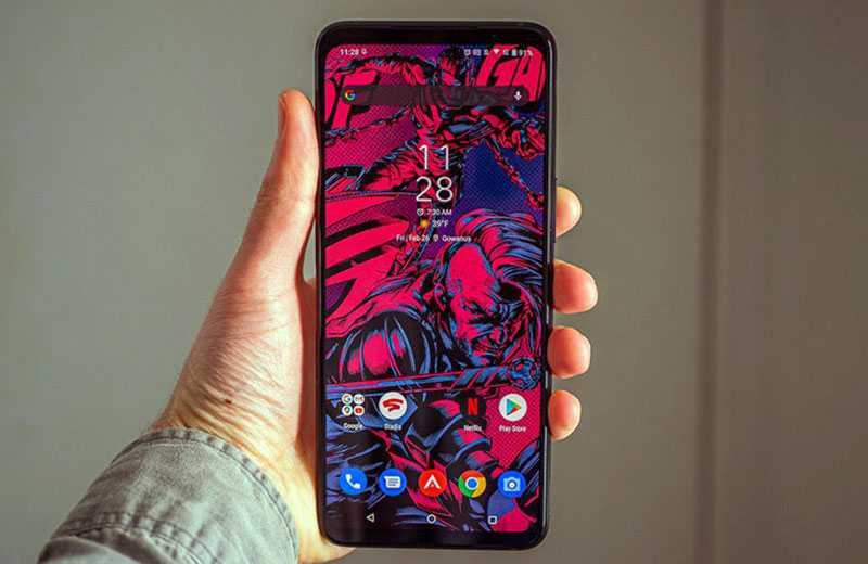 Asus ROG Phone 5 экран смартфона