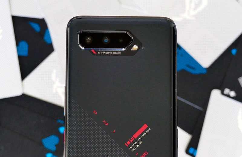 Asus ROG Phone 5 качество съёмки